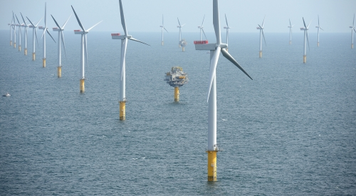 Dogger Bank Wind Farm is located over 130 km off England's north-east coast where NGI, together with numerous stakeholders, for more than 10 years has been working on the site.