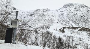 Continuous avalanche measurements with new radar